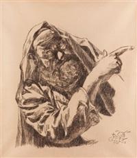 der prophet by ludwig meidner
