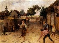 child's play by aleksandr petrovich apsit