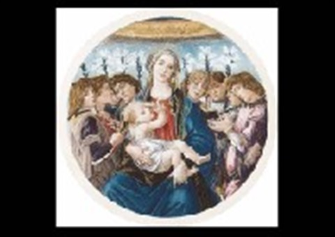 madonna and eight angels by sandro botticelli