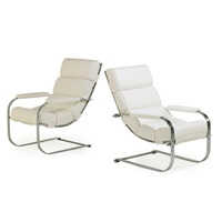 lounge chairs (set of 2) by gilbert rohde