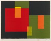 ohne titel (geometrische komposition) by johannes itten
