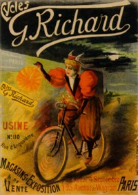 g. richard cycles by posters: sports - cycling