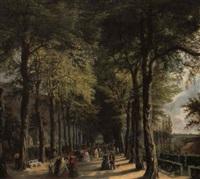 la promenade sous les arbres by ernest krins