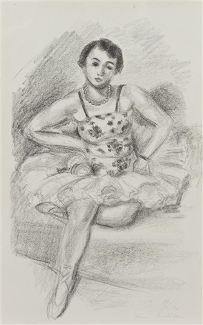 danseuse assise by henri matisse