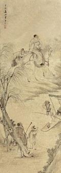 人物 by wang su