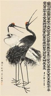 crane by jiang yu