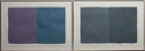 untitled triptych untitled diptych 2 works 3 works in total by joe goode
