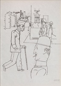 arbeitslose/ 21 by george grosz