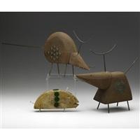 mice (3 works) by john risley