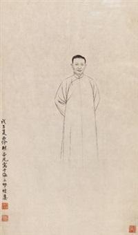 人像 by hu yaguang