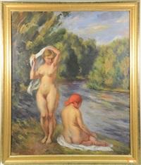 les baigneuses by léonid frechkop
