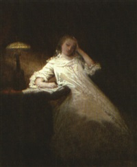 a midnight renunciation by raymond auguste quinsac monvoisin