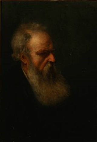 an old jew with a beard by david jacobsen