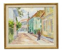 kyrkogatan i marstrand, bagar larsson by birger simonsson