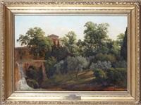 villa d'este, rom by gustaf wilhelm palm