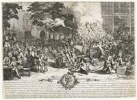 monument consacré á la posterité...en memoire de la folie incroyable de la 20. année du 18. siècle by pierre mussard
