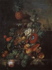 blumen- und früchtestilleben by johannes christianus roedig