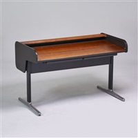 tambour desk by george nelson