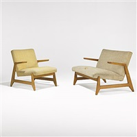 settee (+ armchair, smllr; set of 2) by ralph rapson