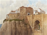bridge at ronda by lowell ellsworth smith
