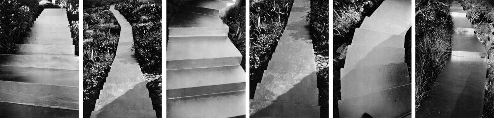 atlantis treppe 6 works by günther förg