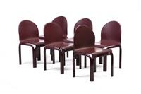 mobilier de salon modèle n°54-51 (set of 9) by gae aulenti