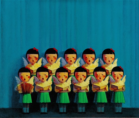chorus of angels by liu ye