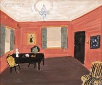 interior scene by nikolai ivanovich vasilieff