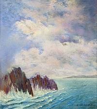 kustlandskap by kostantine weschiloff alexandrovich