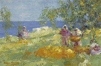 orange harvest, tangier by william kennedy