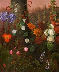 vilde fritvoksende blomster by johannes ludwig camradt