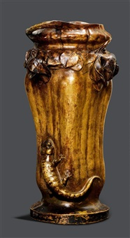 vase by goldscheider (co.)