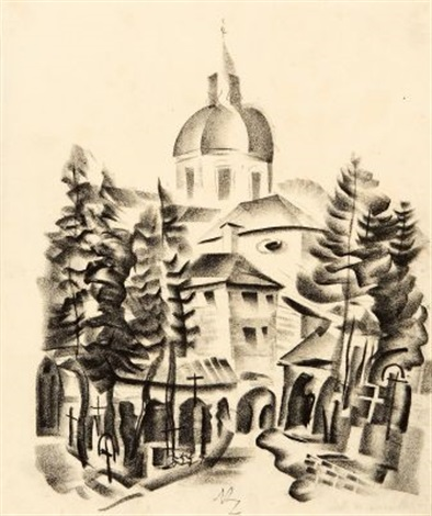 salzburg st peter by richard ziegler
