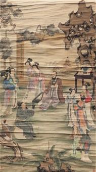 宫乐图 (life in a palace) by you qiu