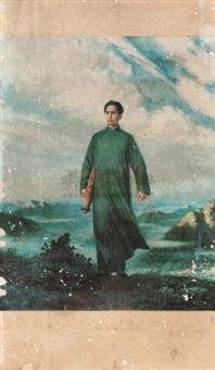 毛泽东去安源 by liu chunhua