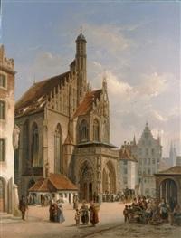 die st. sebaldus-kirche in nürnberg by ivo ambroise vermeersch