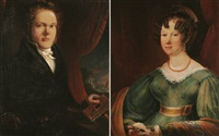 portrait of a husband and wife by j. peirson
