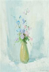 vaso con fiori by giulio da vicchio