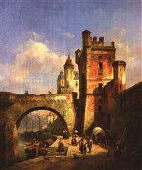moselbrücke und altstadtsilhouette von koblenz by ivo ambroise vermeersch