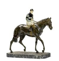 reiter mit pferd by maurice guiraud-rivière