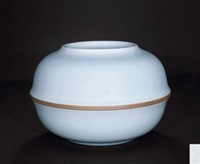 《照》 (celadon ware with design of containers) by xu qun