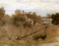 summer landscape by thomas c. corner