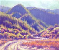 california landscape by joe waano-gano