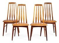juego de sillas eva (4 works) by niels koefoed