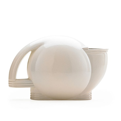 art deco teapot by paul schreckengost