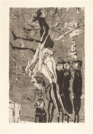 akrobaten by horst janssen