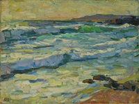 coastal view by e.charlton fortune