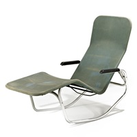 barwa lounge chair by john waldheim and edgar bartolucci
