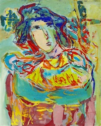 Composition with woman, 1999