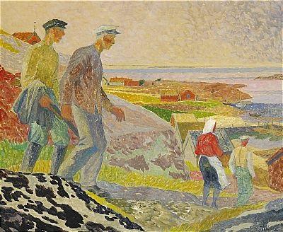 fiskare på ungskär blekinge skärgård by gunnar torhamn